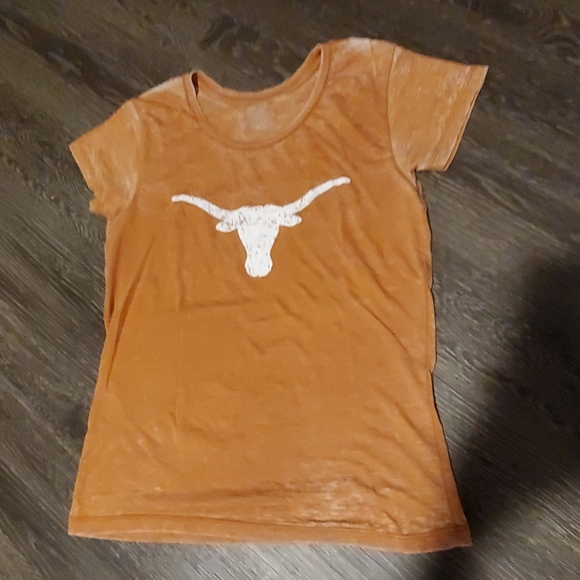 Blue 84 Tops - Texas Longhorns Vintsge Style Tee